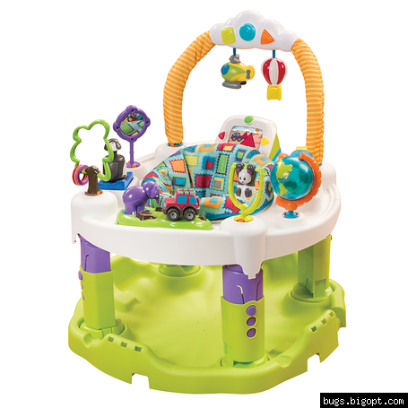 Игровой детский развивающий центр ExerSaucer® Triple Fun ™ Plus World Explorer
