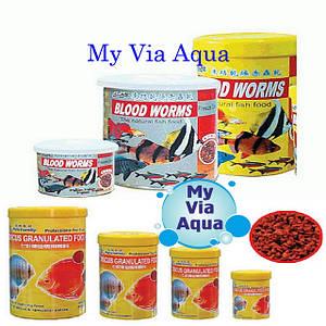 Импортные корма для аквариумных рыб.