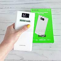 Power bank 30000mah Borofone BT2D / Оригинальный повербанк / портативная зарядка / павербанка / пауэрбанк