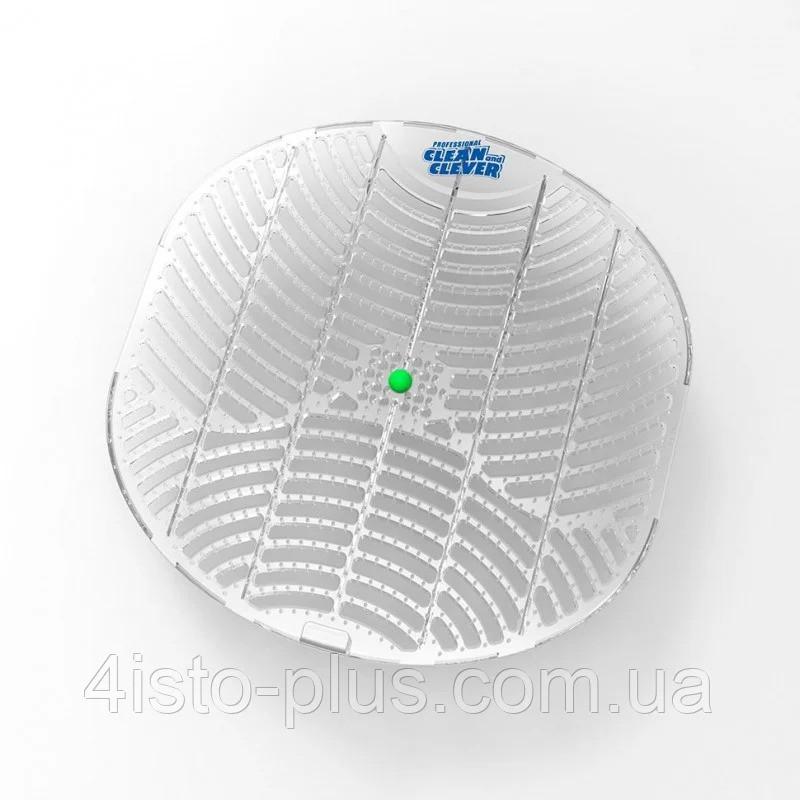 (10664)Clean and Clever Screen® решітка/екран захисний ароматизований для пісуарів ментол