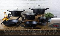 Набор посуды Berlinger Haus черного цвета - 15 предметов, фото 2