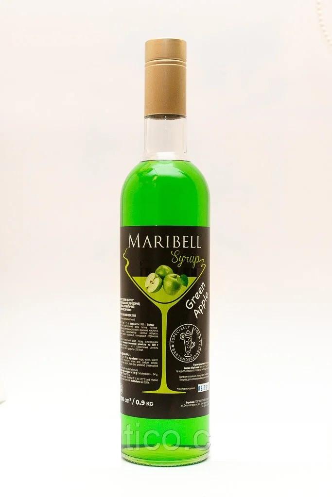 Сироп MARIBELL Зеленое яблоко 700мл (900гр)