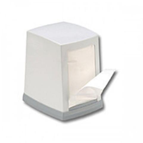 PRO service Пластиковий тримач паперових серветок (білий) 1 шт (18 шт/ящ)