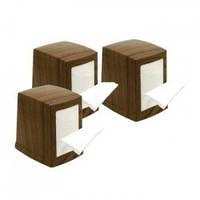 PRO service Пластиковий тримач паперових серветок (дерево) 1 шт. (18шт/ящ)
