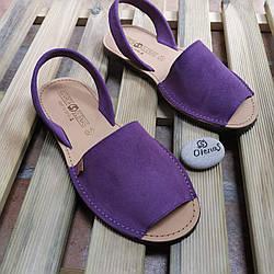 Яркие брендовые замшевые испанские сандалии OlenaS, оригинал