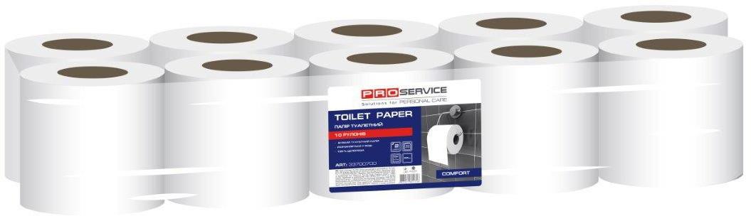 PROservice Comfort  Папір туалетний в рулонах 20 м,  10 рул/уп (6 уп/ящ)