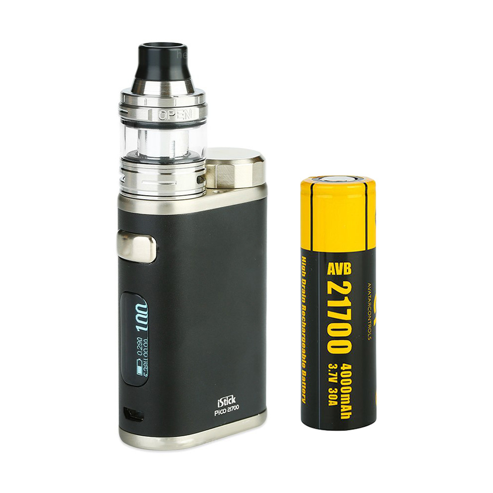 Стартовый набор Eleaf iStick Pico 21700 with ELLO 100W 4000 мАч Black