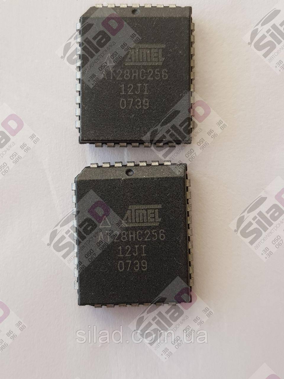 Микросхема ATMEL AT28HC256-12JI корпус PLCC-32 Память EEPROM 32kx8bit