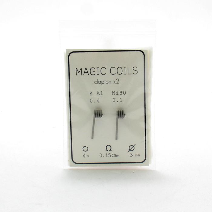 Комплект спиралей Magic Coils Fused Clapton №13 2 шт 0.15 Ом