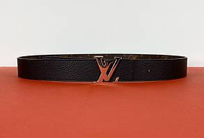 Двусторонний женский ремень Louis Vuitton (Луи Виттон) арт. 70-01