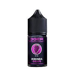 Жидкость 3Ger Mirinda Ice Grape 1.5 мг 30 мл