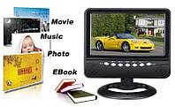 """Автомобильный портативный LCD телевизор 7"""" HD-V788 / VC788 с T2 цветной монитор 7 дюймов"""