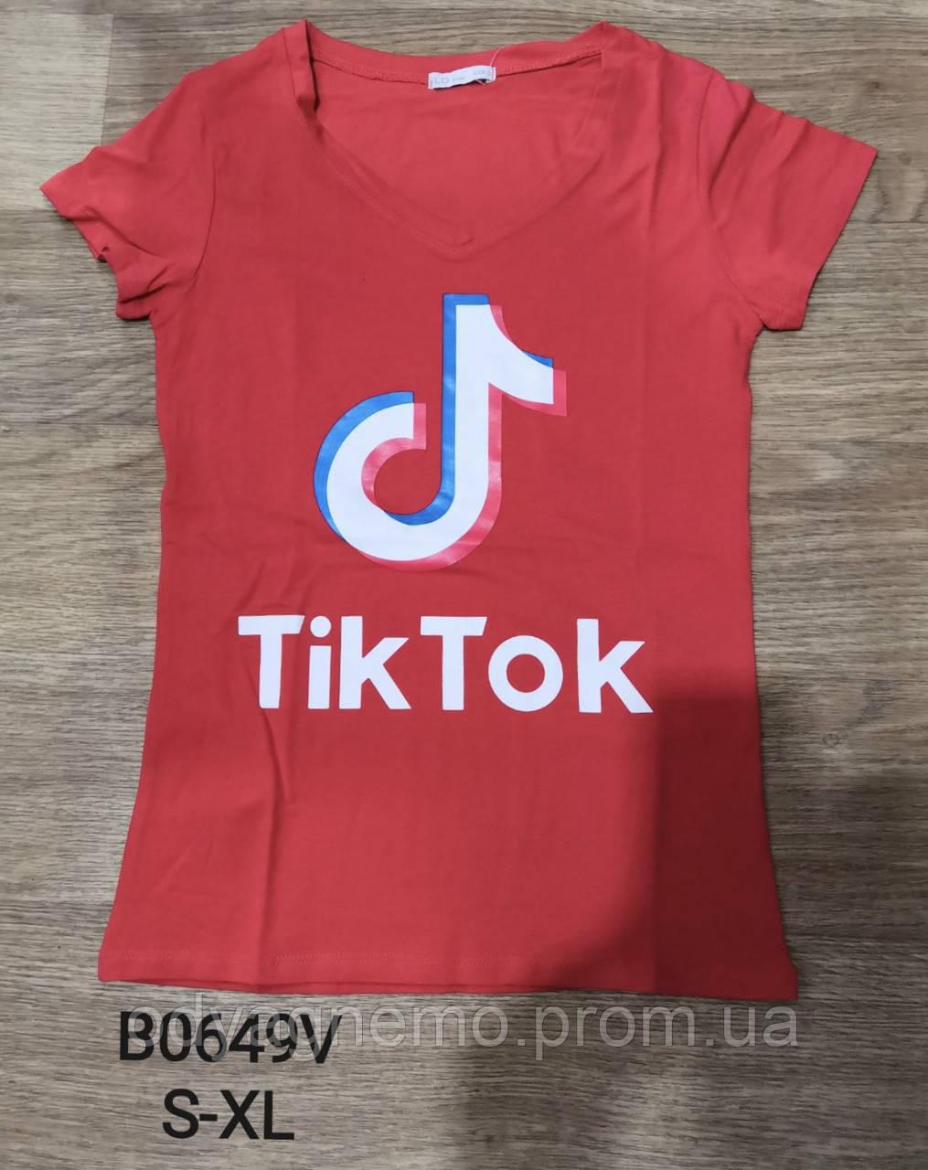 Футболка женская Tik Tok Glo-story , S-XL рр. Артикул: WPO-B0649V