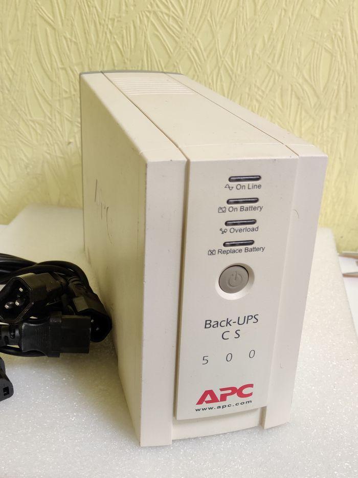 ИБП Back-UPS CS 500 б.у