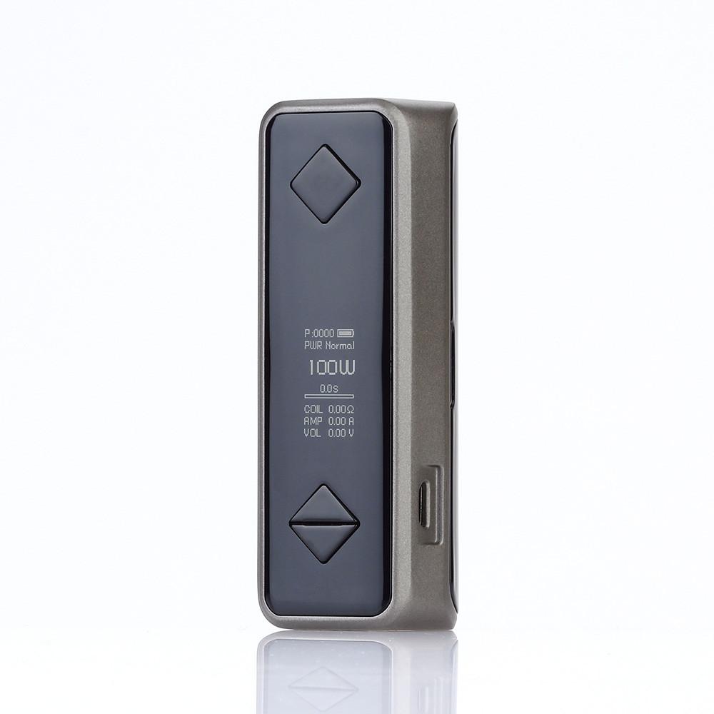 Батарейный мод Hotcig G100 100W TC Iron Grey
