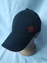 Стильная летняя черная кепка-бейсболка от бренда NY