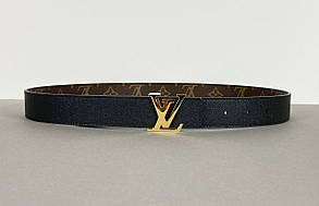 Ремень Louis Vuitton двусторонний (Луи Виттон) арт. 70-03