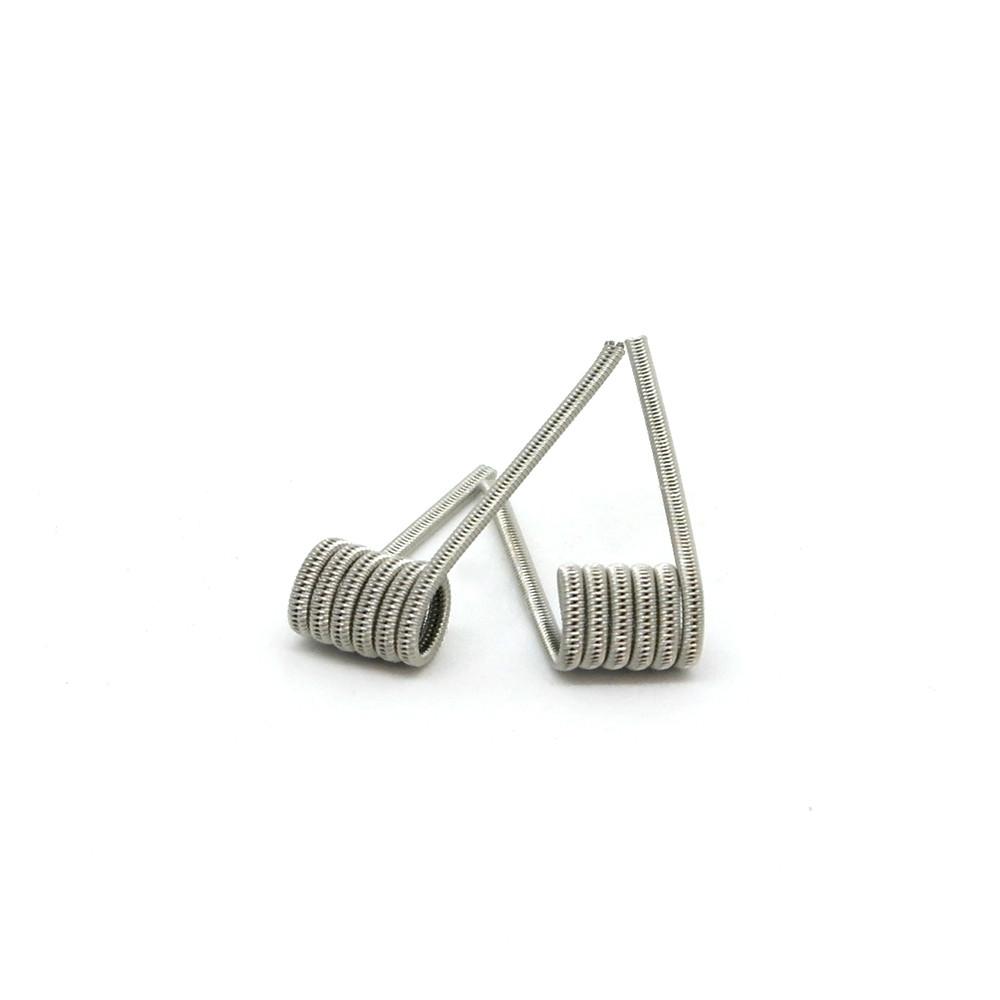 Комплект спиралей Hungry Coils Staggered Fused Clapton № 282 2 шт 0.73 Ом