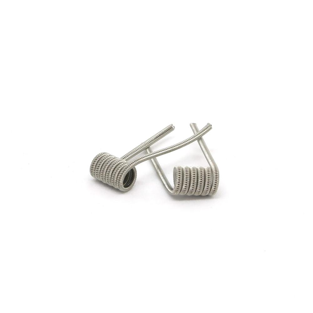Комплект спиралей Hungry Coils Staggered Fused Clapton № 285 2 шт 0.49 Ом