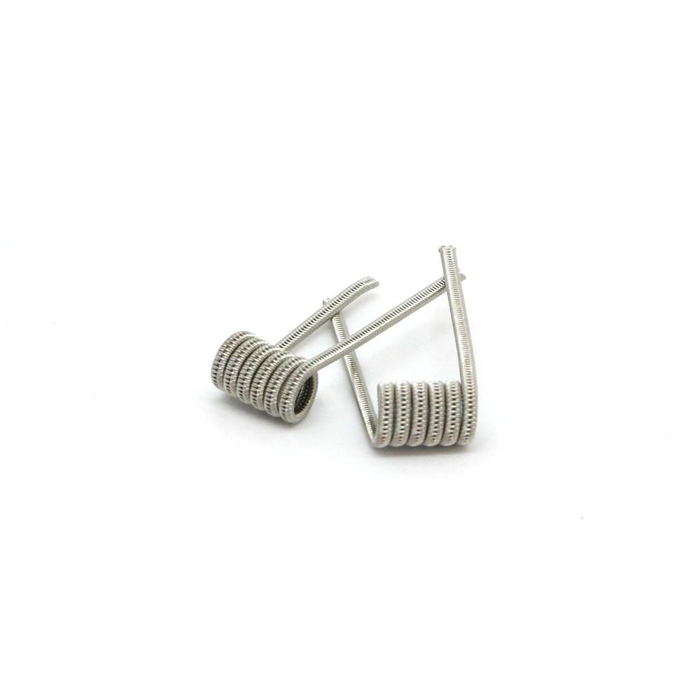 Комплект спиралей Hungry Coils Staggered Fused Clapton № 289 2 шт 0.39 Ом