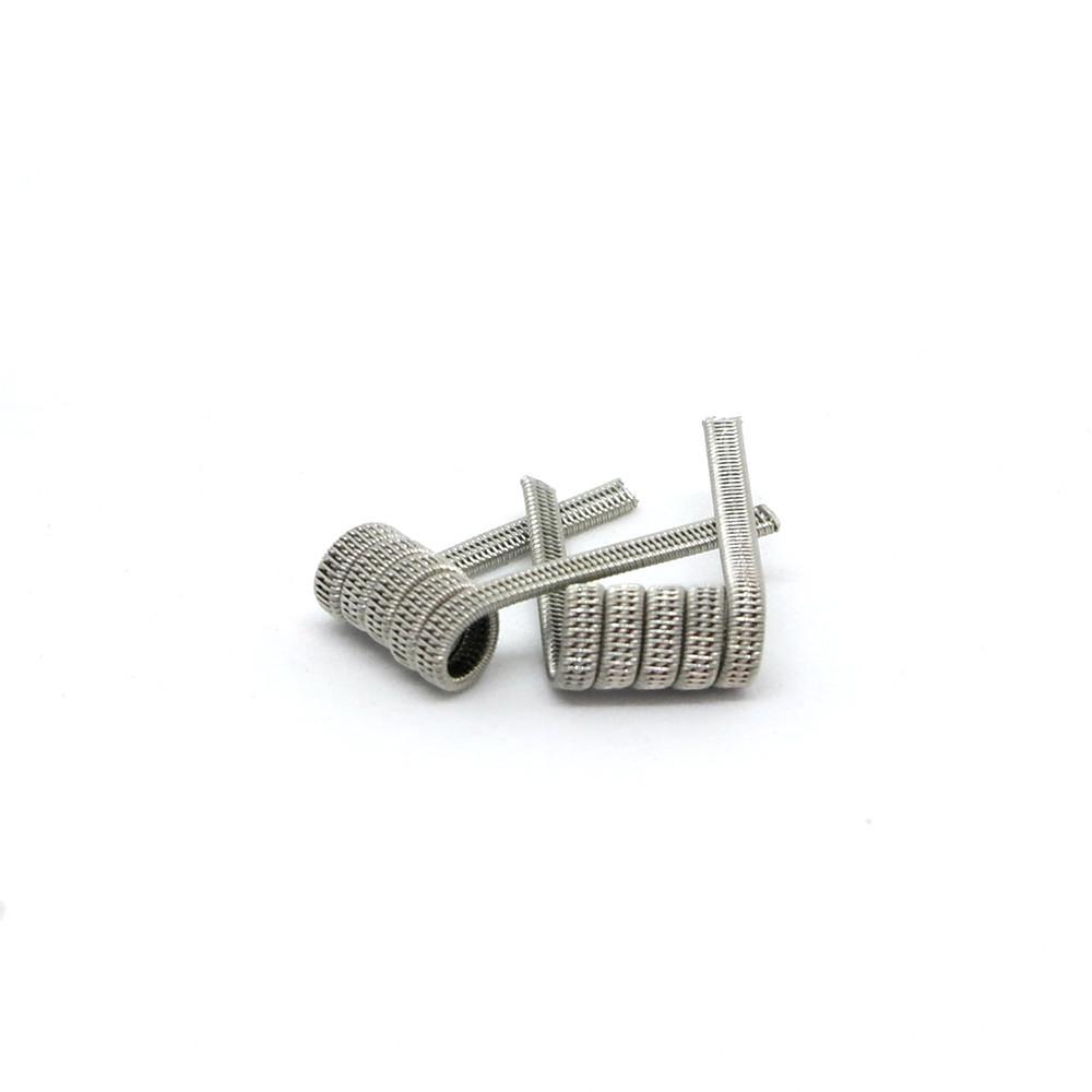 Комплект спиралей Hungry Coils Triple Staggered Fused Clapton № 295 2 шт 0.43 Ом
