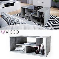 Vicco журнальный столик Gabriel-N, 100х60, цвет бетон