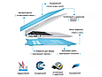 Чехол пластиковая накладка для MacBook PRO Retina 13,3'' (A1706/A1708/A1989/A2251/A2289/A2338) - прозрачная, фото 8