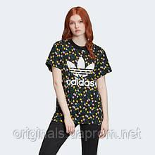 Женская футболка Adidas Allover Print W FL4112 2020