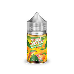 Жидкость Fruit Monster Salt Mango Peach Guava 48 мг 30 мл