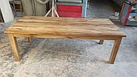 Стол раскладной из массива дуба 2300 (+700) х 1000 мм., фото 1