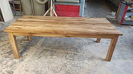 Стол раскладной из массива дуба 2300 (+700) х 1000 мм.
