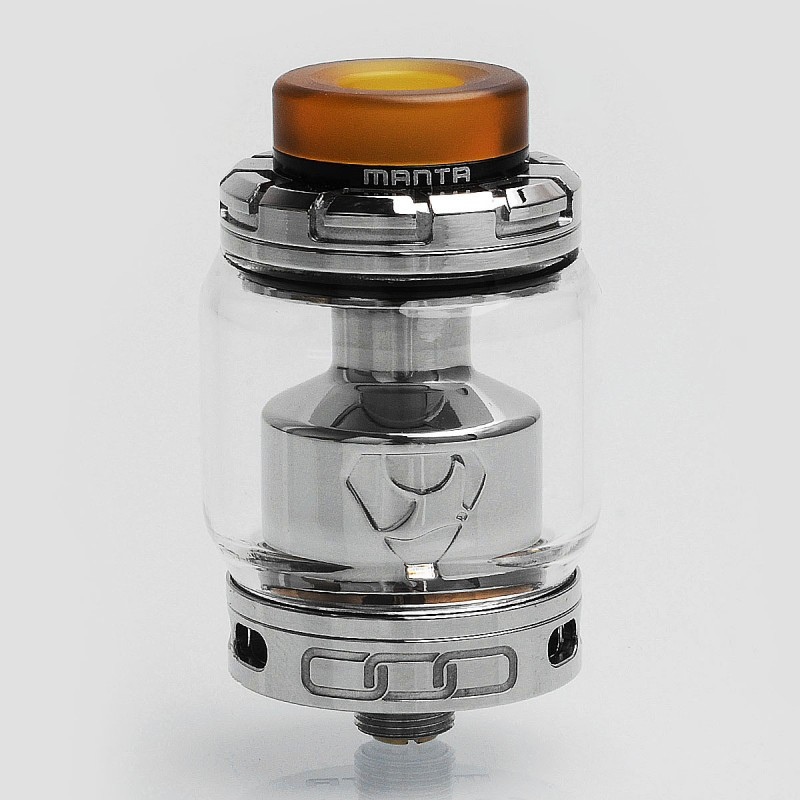 Advken Manta RTA - обслуживаемый атомайзер. Оригинал Silver