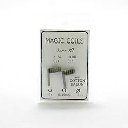 Комплект спиралей Magic Coils Clapton №74 2 шт 0.10 Ом