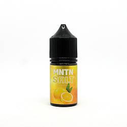 Жидкость для электронных сигарет Montana MNTN Salt Lemon 25 мг 30 мл