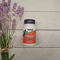Now Foods Selenium 100 tab 100 mcg , селен Нау фудс, фото 1