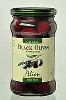 Оливки чёрные с косточками/ Pelion Black Olives, 320 г