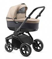 Jedo Детская универсальная коляска 2в1 Lark коричневая с черным