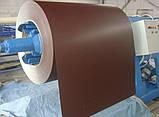 Гладкий  лист с полимерным покрытием толщиной 0,8 мм Италия ARVEDI , ширина 1250 мм ., фото 8
