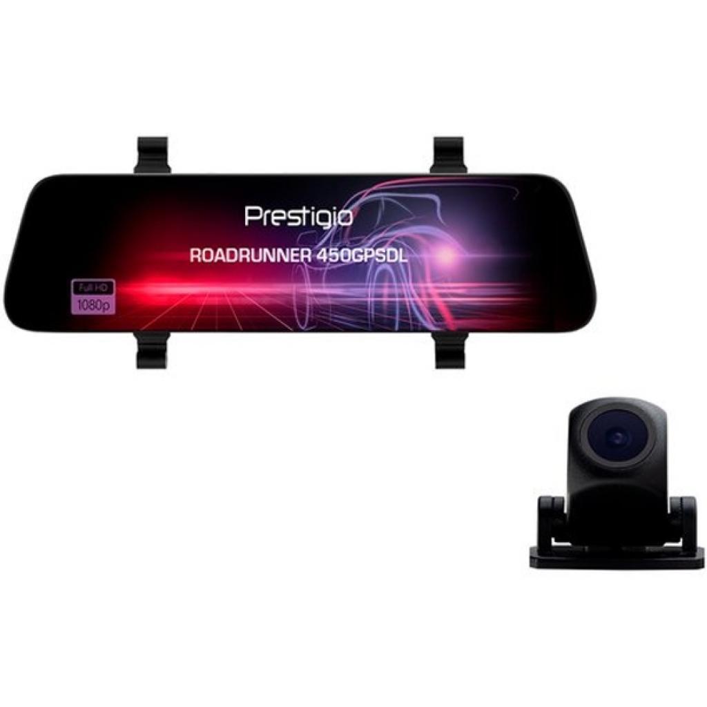 Видеорегистратор PRESTIGIO RoadRunner 450GPSDL (PCDVRR450GPSDL)