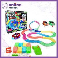 Детский гибкий трек Magic Track на 360 деталей! / Гоночная трасса