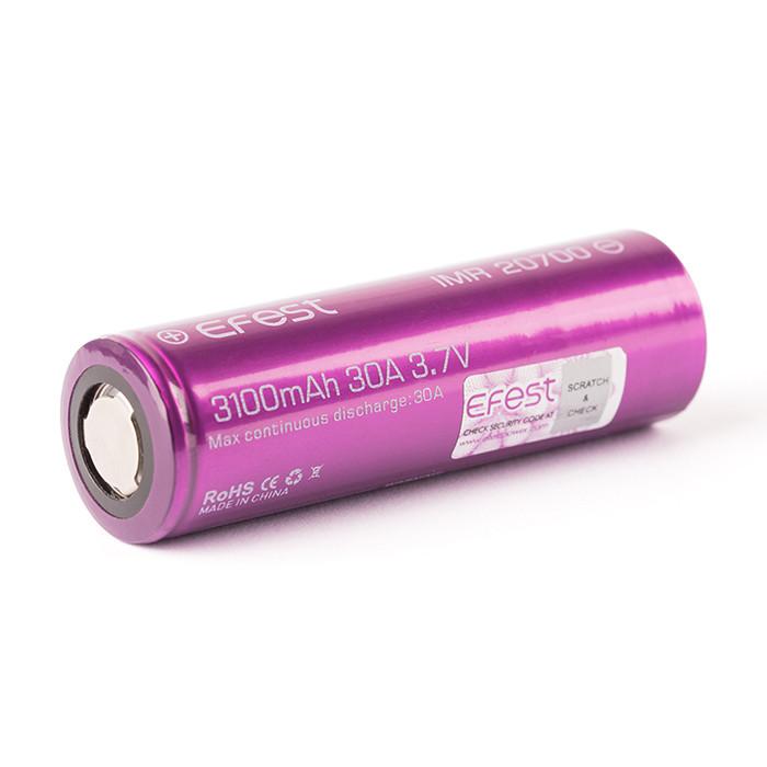Аккумулятор Efest 20700 3100 мА*ч 30 A