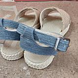 Босоніжки жіночі бежеві, фото 7
