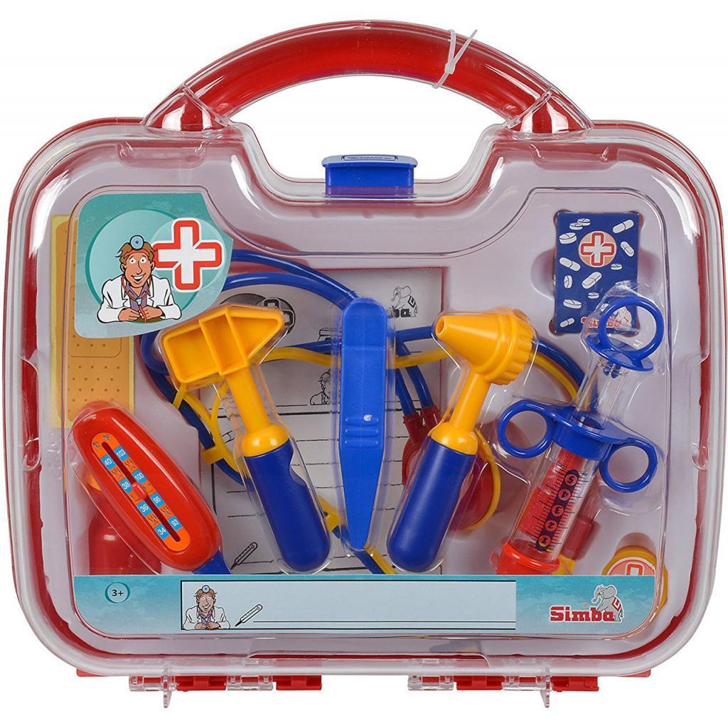 Игровой набор Simba Набор врача в кейсе 10 предметов (5542578)