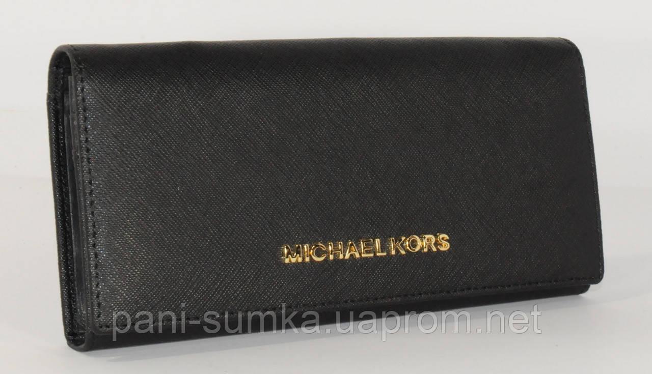 Кошелек женский кожаный МК 514 черный, расцветки