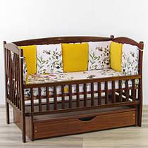 Бортики подушки сплячий оленя з помаранчевим плюшем минки