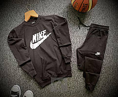 Спортивный костюм Nike мужской черный (Найк )