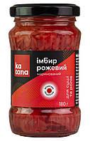 Імбир маринований рожевий Katana, 180 г