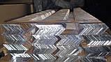 Уголок алюминиевый 140х40х3 разнополочный (разносторонний), фото 2