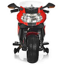 Детский электромотоцикл красный BMW Bambi M 3636EL-3 мощность мотора 45W, фото 2