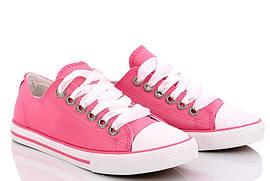Кеды кроссовки женские текстильные розовые Libang размер Только 36
